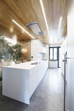 Hervorragend Minimalistische Küche Mit Betonboden