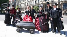 May 2015 Leipzig becomes black. Every year on Whitsun thousands of supporters of the Gothic scene from all over the world travel to the east of Germany to meet soulmates and celebrate their dark attitude with old and new friends.