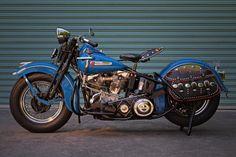 1948 Harley Davidson Panhead Vintage Motorcycle Poster 24x36 | eBay