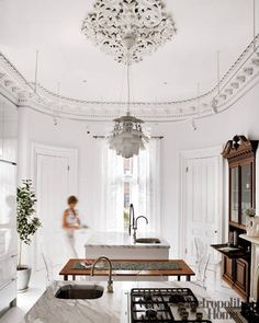 Old and New - ELLE DECOR - so classy in Boston