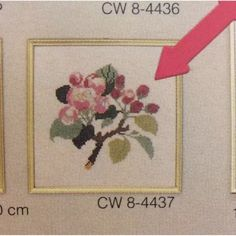 Eva RosenstandCounted cross stitch kit.Apple blossom approximately 20x20 cm. Includes chart/pattern, floss, pallette sorter, and linen.Approximately 30 count Linen. New. Come with the above and the bag. From my smoke free home. Thank you for looking.