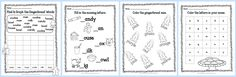 FREE Gingerbread Print & Go Math and LIteracy Practice Pages by The Curriculum Corner   kindergarten & first grade