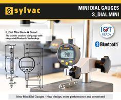 S_Dial Mini Basic & Smart – cel mai mic comparator cu Bluetooth de la Sylvac Small World, Control, News Design, Bluetooth, Software, Mini, Blue Tooth