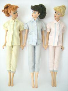 2 piece pjs  The Fashions of 1962 - Barbie Teenage Fashion Model