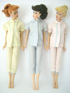 2 piece pjs The Fashions of 1962 - Barbie Teenage Fashion Model
