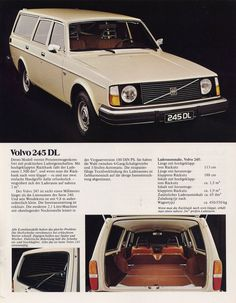 Volvo Station Wagon, Volvo Wagon, Volvo Ad, Classy Cars, Car Advertising, Top Cars, Vintage Ads, Custom Cars, Cars And Motorcycles