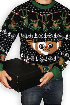 Sueter de Navidad Gremlins <3