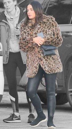 Jenna Dewan in Los Angeles, California on Thursday Jenna Dewan, Off Duty, Veronica, Color Splash, Thursday, Contrast, Winter Jackets, California, Product Description