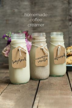 Homemade Coffee Creamer | this heart of mine
