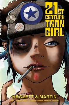 Make way for the Tank Girl of the new millenium! After a break of 20 years, artist extraordinaire Jamie Hewlett (GORILLAZ) is leaping back on the Tank Girl wagon, re-teaming with series co-creator Ala Comic Book Characters, Comic Books Art, Comic Art, Tank Girl Cosplay, Tank Girl Comic, Arte Steampunk, Science Fiction, Gorillaz Art, Thing 1