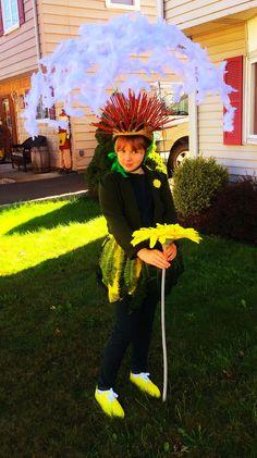 Dandelion Halloween costume