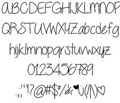 Seriously font by ByTheButterfly - FontSpace