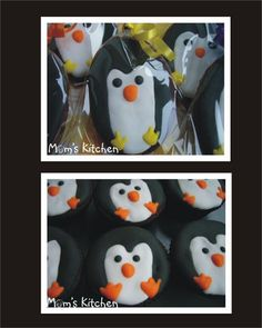 I love these little penguin cupcakes!!!!!