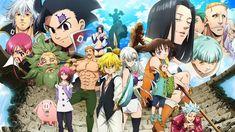 "Nanatsu no Taizai Season 3 : Kamigami no Gekirin Opening Full 『SID - delete』 TV Anime ""The Seven Deadly Sins: Wrath of the Gods"" OP Theme Artist: SID ★Lyrics. Seven Deadly Sins Anime, 7 Deadly Sins, Meliodas Brother, Trinity Seven Anime, Upcoming Anime, Chibi Food, Animes To Watch, Seven Deady Sins, Anime Episodes"