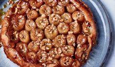 Nadiya Hussain's Banana Tarte Tatin with Malai Ice Cream Nadiya Hussain Recipes, Onion Tart, Leek Tart, Curry Pasta, Chocolate Dishes, Salad Cake, Time To Eat, Latest Recipe, Baked Beans