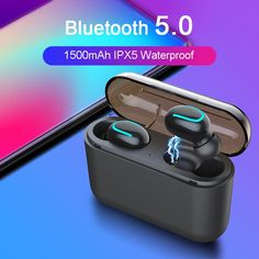 TWS Dynamic True Wireless earphones Bluetooth Head phones HBQ Earbuds Stereo Headset With Mic Charging Box for Smartphone XR Sport Earbuds, Sports Headphones, Bluetooth Headphones, Wireless Headset, Gaming Headset, Waterproof Headphones, Smartphone, Headphone With Mic, Aliexpress