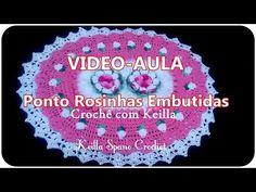 VIDEO AULA: BOTOES DE ROSA EMBUTIDOS NO TAPETE( tulipas)- Por Alexandra Ferreira - YouTube
