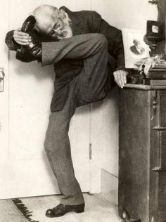 Sigmund Freud, ¿practicando yoga?