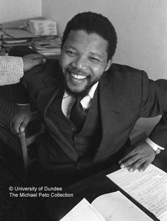 Image from The Peto Collection of Nelson Mandela