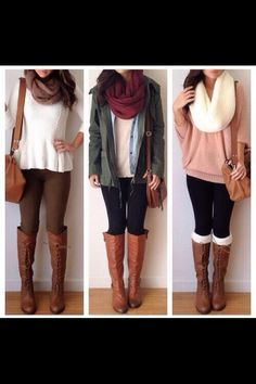 i love winter and fall fashion the best. They look the best on me