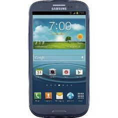 """Samsung Galaxy S III 4G Android Phone, Blue 16GB (Sprint) ○ """"Pumped with high-performing hardware and creative software features, the Samsung Galaxy S3 is an excellent, top-end phone""""--CNET"""