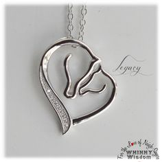 """""""Legacy"""" our 925 Sterling Silver Mare and Foal Pendant Necklace! This Pet… New! """"Legacy"""" our 925 Sterling Silver. Cute Jewelry, Women Jewelry, Unicorn Tattoos, Horse Jewelry, Baby Tattoos, Wire Wrapped Jewelry, Horse Stencil, Jewelry Making, Pendant Necklace"""