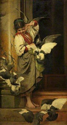 Adolf Echtler (german,1843-1914) - Rossella Lolli - Google+