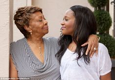 April 21, 2015 UPDATE: Cissy Houston speaks: 'Bobbi Kristina is no longer in a medically induced coma but has global and irreversible brain damage and remains unresponsive' (pictured in June 2012)