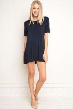 I love these new t-shirt dresses Brandy ♥ Melville