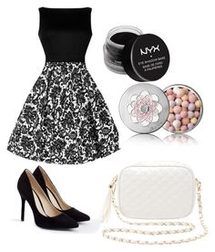 """Untitled #25"" by ssimuhina on Polyvore featuring JustFab, Charlotte Russe, NYX and Guerlain"
