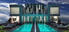 דו משפחתי באשדוד - עיצוב אדריכלי   משרד אדריכלים ועיצוב פנים דורית סלע Marina Bay Sands, Interior Design, Building, Outdoor Decor, Home Decor, Nest Design, Decoration Home, Home Interior Design, Room Decor