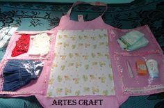Bolsa Maternidade.... By Artes Craft
