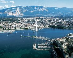 Lake Geneva Switzerland- Where you can play in the Swiss Alps and the Next Day Lay out on the beautiful Lake