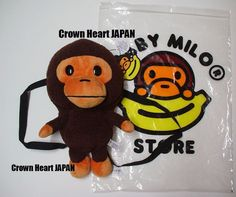 72b0276becb Baby Milo by A Bathing Ape Kids. Overall Size (Milo size)  approx. H x W x  D (approx Material  Polyester. H x W (approx