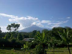 View from our retreat in Arusha Tanzania Kilimanjaro