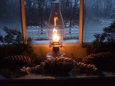 Welcoming glow of a lantern