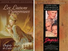 11 Classic Love Stories With Movies as Good as the Book Buzzfeed Movies, Love Story Movie, French Romance, Good Romance Books, Dangerous Liaisons, John Malkovich, Famous French, Great Books, The Book