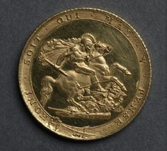 Sovereign (reverse), 1817 England, George III, 1760-1820 gold