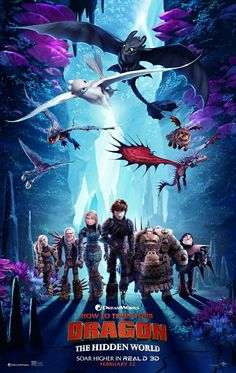 In search of some amazing posters from all the three movies of How To Train Your Dragon?Check out our cool collection of How To Train Your Dragon poster. How To Train Dragon, How To Train Your, Dragons Le Film, Hicks Und Astrid, Dragon Movies, World Movies, Dreamworks Dragons, Httyd Dragons, The Secret World