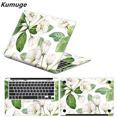 New Flower Leaves Full Set Body Laotop Sticker for Macbook Air Pro Retina 11 12 13 15 Vinyl Decal Laptop Skin for Macbook Pro 13