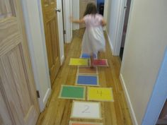 Day 43- Play a little indoor or outdoor hopscotch.