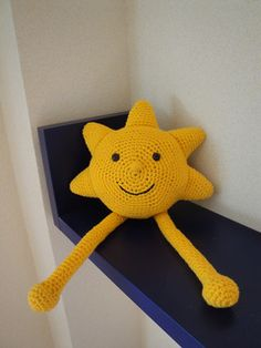 "Smiling Sun - Free Amigurumi Pattern - PDF File click "" download "" or "" free Ravelry download """