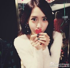 Receive SNSD YoonA's heart through her latest picture