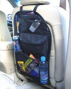 1 PCS Auto Car Seat Organizer Sundries Holder Multi-Pocket Travel Storage Bag Hanger Backseat Organizing Box