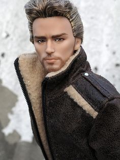 """""""Nate"""" Hunger Game Finnick repaint by the ultra talented Peewee Parker"""