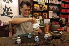 Tea ceremony Shanghai