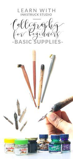Calligraphy for begi