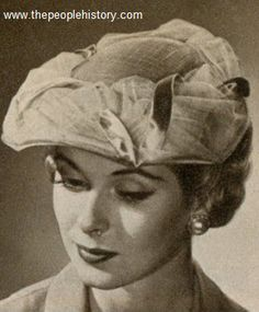 Rippled Brim Shell 1959