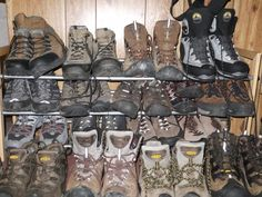 How To: Buy Hiking and Backpacking Boots: Secrets from a Footwear Manager   Outbound Dan.  A comprehensive and informative article.