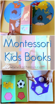 Montessori kids books from Racheous-Lovable Learning
